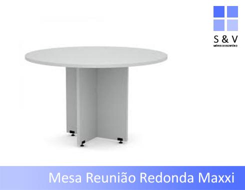 ME004 - Mesa de Reunião Redonda 1.200 Diâmetro